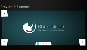 Rhinoslider - Flexible jQuery Slider/Slideshow