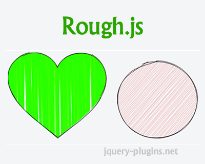 Rough.js – Create Graphics with a Hand-Drawn, Sketchy, Appearance