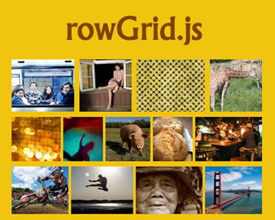 rowGrid.js – jQuery Plugin to Place Items in Straight Rows