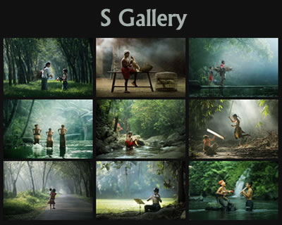 S Gallery – Responsive jQuery Gallery Plugin with CSS3 Animations