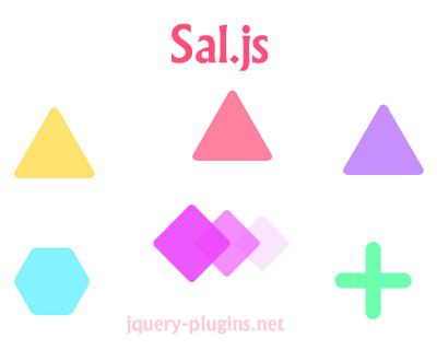 Sal js – Lightweight Scroll Animation Library | jQuery Plugins