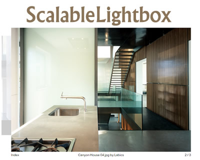 ScalableLightbox – Minimalistic and Responsive jQuery Lightbox Plugin
