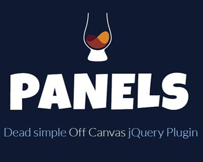 Scotch Panels – jQuery Off Canvas Menus and Panels Plugin