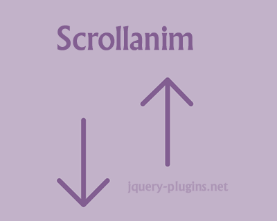 Scrollanim – CSS3 Scroll Animation Library