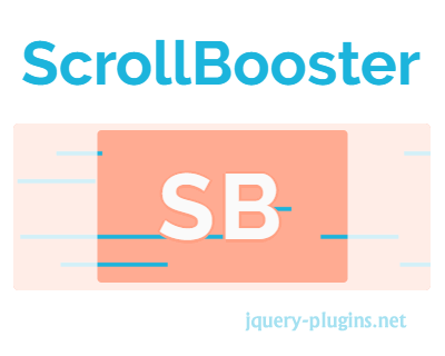 ScrollBooster – Content Drag-to-Scroll Library