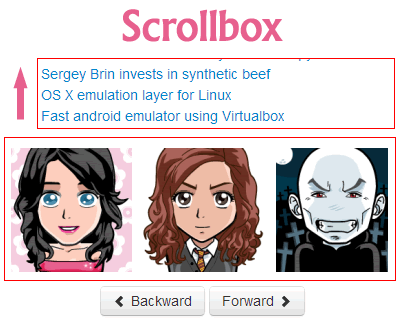 Scrollbox – jQuery Plugin to Scroll Like Carousel or Marquee