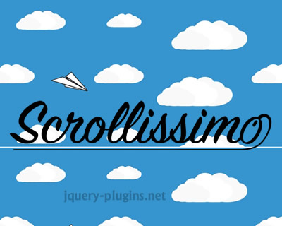 Scrollissimo – Javascript Plugin for Smooth Scroll-Controlled Animations