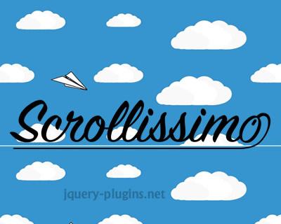Scrollissimo – Javascript Plugin for Smooth Scroll
