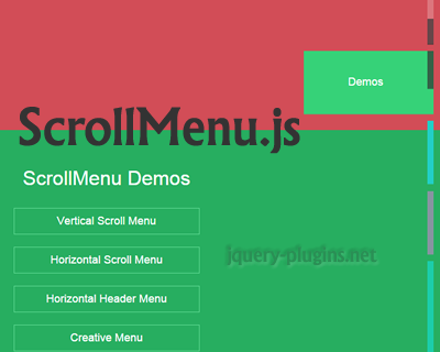 ScrollMenu – New Interface to Replace Your Old Scrollbar