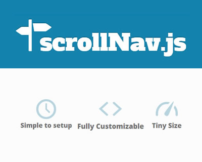 scrollNav – jQuery Plugin for Building a Scrolling Side Nav
