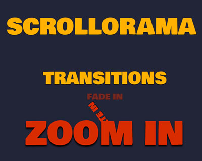 Scrollorama - Scrolling Effects With jQuery