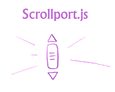 Scrollport.js – jQuery Plugin for Scrolling Animation