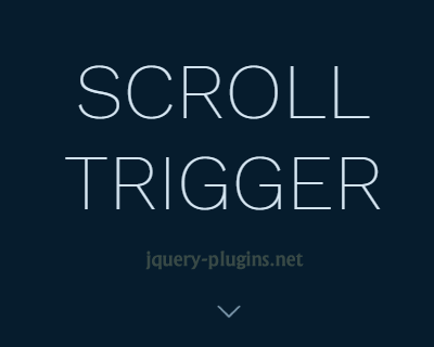 ScrollTrigger – Scroll Based Animations with Ease