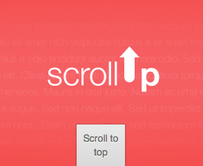 scrollUp –  jQuery Plugin for Scroll to Top Animation