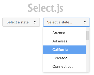 Select.js – Styleable Select Elements