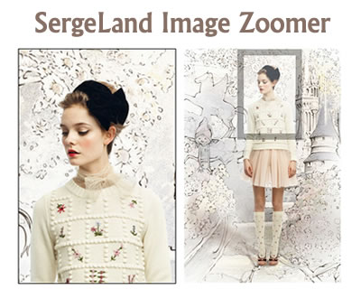 SergeLand Image Zoomer – jQuery Image Zoom Plugin with Magnifying Glass