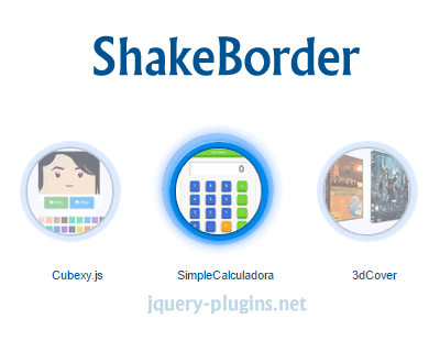 ShakeBorder – Shake and Border Effects With jQuery