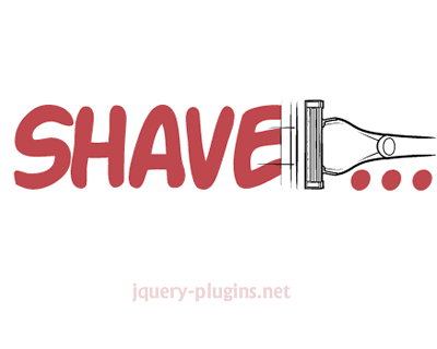 Shave – Javascript Plugin for Truncating Text