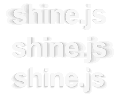 Shine.js – Library for Pretty Shadows