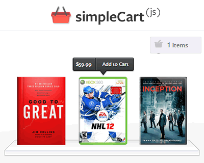Simple Cart – Javascript Shopping Cart
