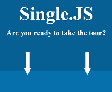 Single.JS – jQuery Plugin to Create Single Page Websites