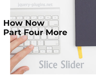 Slice Slider – Slicey Transition Slider