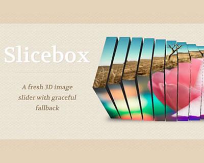 Slicebox - 3D Image Slider With Graceful Fallback