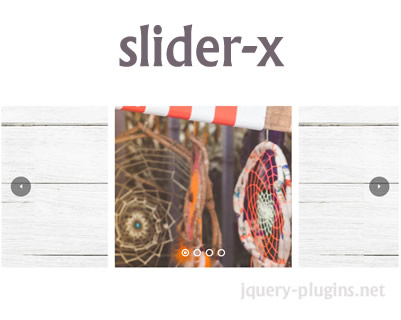 slider-x – Simple and Awesome jQuery Slider