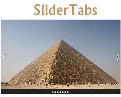 SliderTabs – Flexible & Simple jQuery Plugin for Sliding Tabs