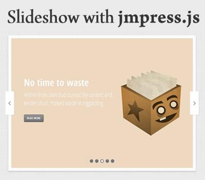 Slideshow with jmpress.js