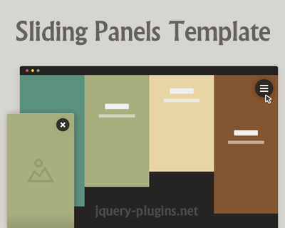 Sliding Panels Template with CSS and jQuery