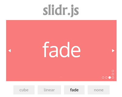 slidr.js – JavaScript Library for Slide Effects