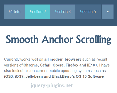 Smooth Anchor Scrolling with jQuery