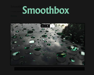 Smoothbox – Responsive and Lightweight jQuery Lightbox