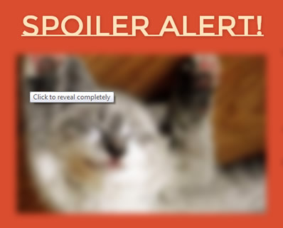Spoiler Alert! – jQuery Plugin to Hide Spoilers on Your Site