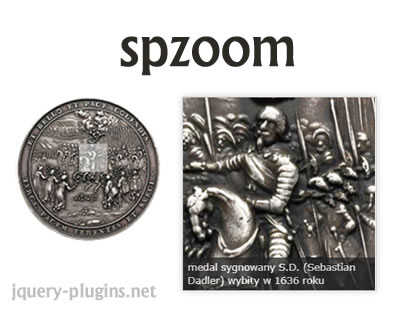 spzoom – Simple jQuery Image Zoomer