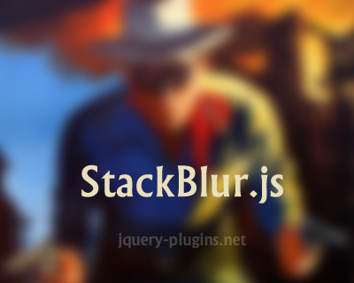 StackBlur.js –Fast and Almost Gaussian Blur