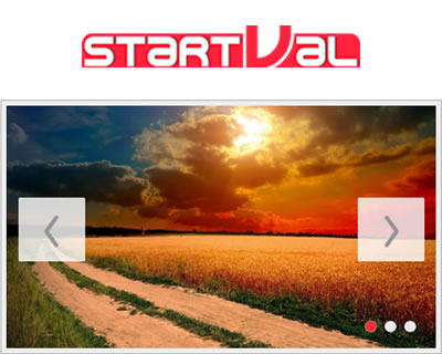 startVal – The Ultimate jQuery Slider