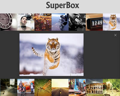SuperBox –  Responsive Re-Imagined Lightbox Gallery