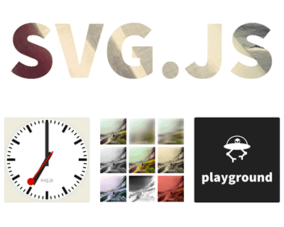SVG.js – JavaScript Library for Manipulating and Animating SVG