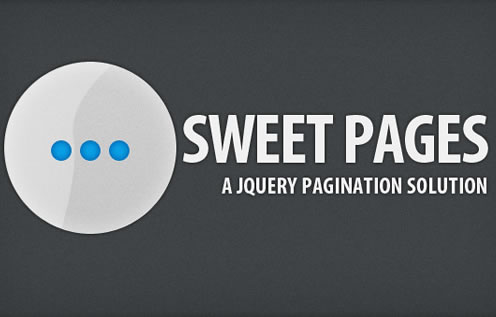 Sweet Pages - A jQuery Pagination Solution