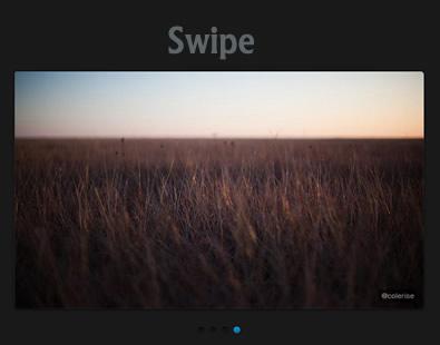 Swipe – Responsive Touch Slider