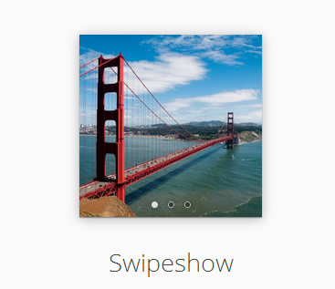 Swipeshow – jQuery Touch Enabled Slideshow