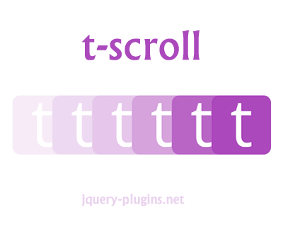 t-scroll – Modern Reveal-On-Scroll Library With Animations
