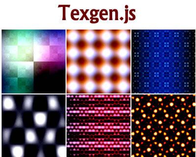 Texgen.js – Procedural Texture Generator