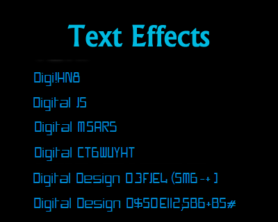 Text Effects –  Sci-Fi Style Effect with jQuery