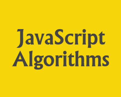 The Algorithms - JavaScript