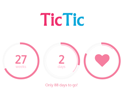 TicTic – jQuery Pregnancy Ticker