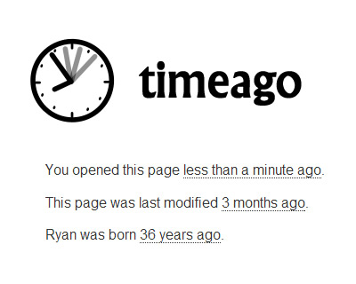 timeago – jQuery Plugin for Automatically Updating Fuzzy Timestamps