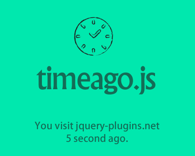 timeago.js – Library to Format Date with Time Ago Statement